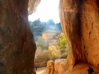 Cañones del Río Lobos y Valderrueda;rutas senderismo sierra madrid viajar en año nuevo cascadas d
